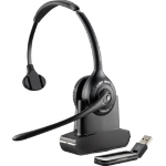 Plantronics Savi W410M Monaural Head-band Black headset
