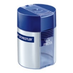 Staedtler 511 001 Manual pencil sharpener Blue, Silver pencil sharpener