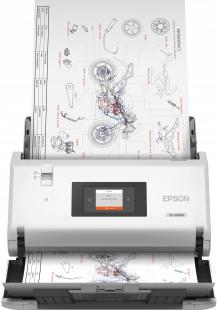 Epson WorkForce DS-30000 600 x 600 DPI Sheet-fed scanner Black,White A3
