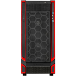 Silverstone RL05 Midi-Tower Black,Red