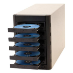 Microboards Technology 5 bay Blu-ray Multi-Writer Tower; direct attached with eSATA (PCIe card included); includes Zulu2 Di