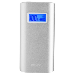 PNY PowerPack Digital 5200 power bank Silver Lithium-Ion (Li-Ion) 5200 mAh
