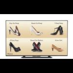 "Sharp PN-Q601 signage display Digital signage flat panel 152.4 cm (60"") LCD Full HD Black"