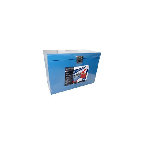 Cathedral Products Value Cathedral Metal File Box A4 Blue