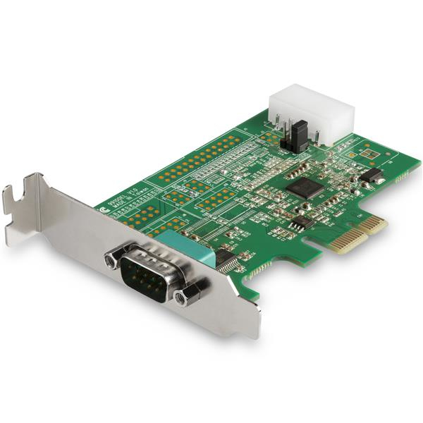 StarTech.com 1-poorts RS232 seriële adapter kaart met 16950 UART