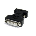 StarTech.com DVI to VGA Cable Adapter - Black - F/M