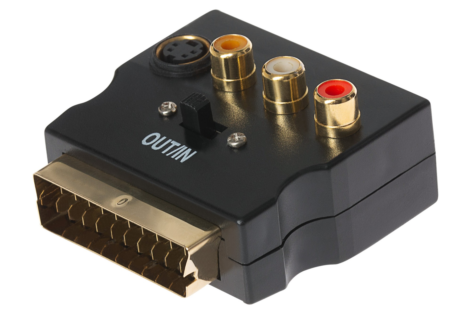 MAPLIN SCART to S-Video or Triple RCA Adapter