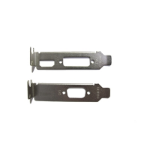 TARGET 2 X Low Profile Brackets For Graphics Cards Fits DVI + HDMI And VGA