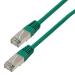 MCL CAT 5E F/UTP 5m cable de red Cat5e F/UTP (FTP) Verde