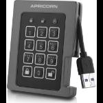 Apricorn Aegis Padlock Fortress 512 GB Black