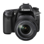 Canon EOS 80D + EF-S 18-135 IS USM 24.2MP CMOS 6000 x 4000pixels Black