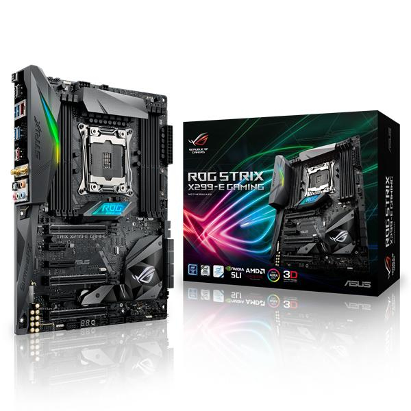 ASUS ROG STRIX X299-E GAMING Intel X299 LGA 2066 ATX motherboard
