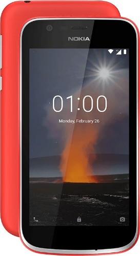 """Nokia 1 11.4 cm (4.5"""") 1 GB 8 GB 4G Red 2150 mAh"""