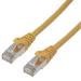 MCL 3m Cat6a F/UTP cable de red F/UTP (FTP) Amarillo