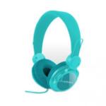 Acteck TB-02004 Biauricular Diadema Azul auricular con micrófono dir