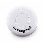 Integral INSELFIEDISC Bluetooth Press buttons Black,White remote control