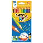 BIC Kids Evolution colour pencil 12 pc(s) Multi
