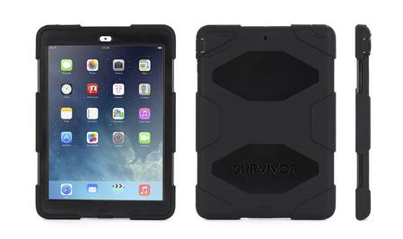 Griffin Apple iPad Air Survivor Case - Black (GB36307-2)