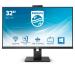 "Philips P Line 326P1H/00 LED display 80 cm (31.5"") 2560 x 1440 pixels Quad HD Black"