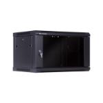 LinkBasic 6RU Wall Mount Cabinet Flat Pack (600mm x 450mm x 368mm)