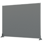 Nobo 1915500 magnetic board Grey