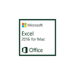 Microsoft Excel 2016 for Mac, 1u