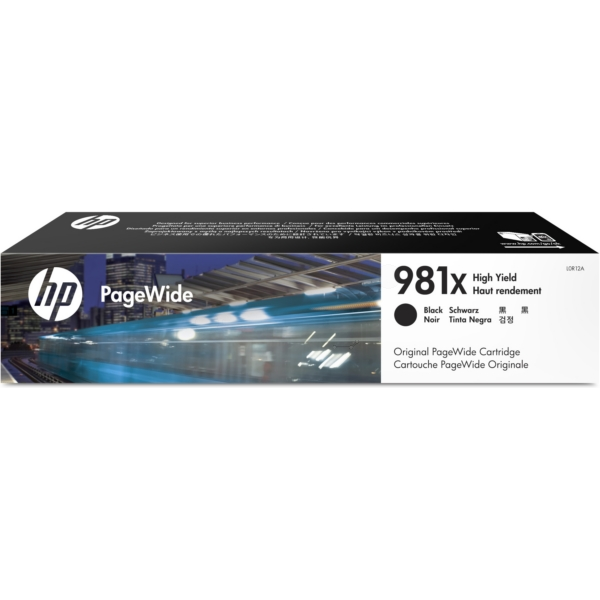 HP L0R12A (981X) Ink cartridge black, 11K pages