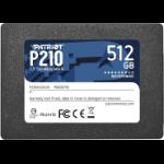 """Patriot Memory P210 2.5"""" 512 GB Serial ATA III P210S512G25"""