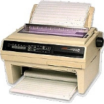 OKI Microline 395 610cps 360 x 360DPI dot matrix printer