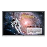 "Benq RE7501 signage display Interactive flat panel 75"" LED 4K Ultra HD Black Touchscreen"