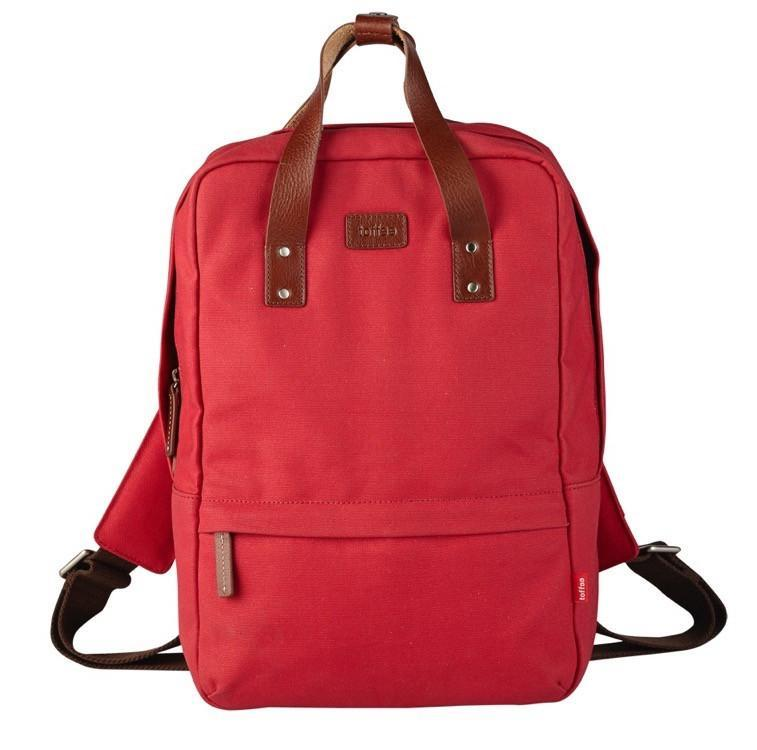 """Toffee Centennial Backpack for 13"""" Messenger Shoulder Bags Red"""