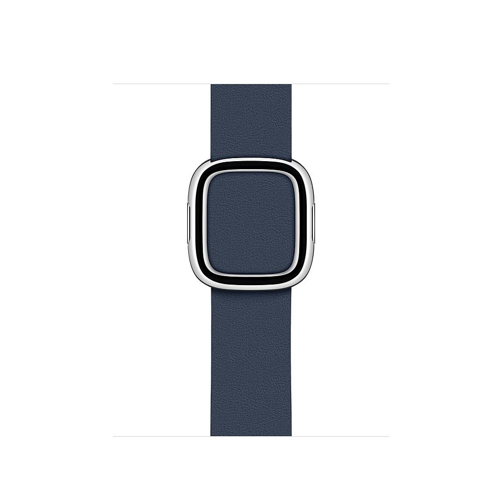 Apple MXPF2ZM/A smartwatch accessory Band Blue Leather