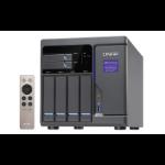 QNAP TVS-682 Ethernet LAN Toren Zwart NAS