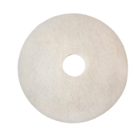 3M ECONOMY FLOOR PADS 380MM WHITE