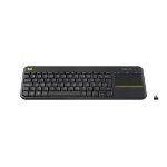 Logitech K400 Plus keyboard RF Wireless QWERTY Italian Black