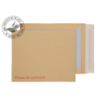 Blake Purely Packaging Board Back Pocket Peel and Seal Manilla 120gsm 267×216mm (Pk 125)