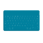 Logitech Keys-To-Go Bluetooth Teal mobile device keyboard