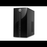 HP Pavilion 510-a010a 1.6GHz J3710 Tower Black PC