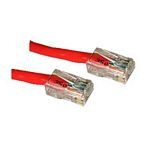 C2G Cat5E Crossover Patch Cable Red 0.5m