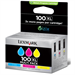 Lexmark 14N0850B (100XL) Ink cartridge multi pack, 600 pages, Pack qty 3