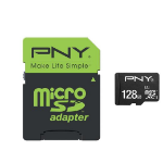 PNY 128GB High Performance MicroSDXC 80MB/s 128GB MicroSDHC UHS-I Class 10 memory card
