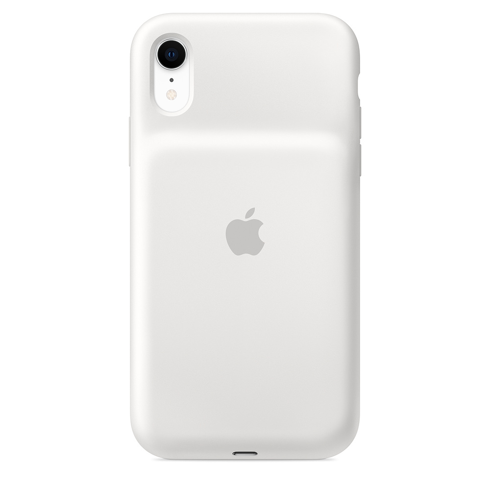 "Apple MU7N2ZM/A mobile phone case 15.5 cm (6.1"") Skin case White"