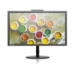 "Lenovo ThinkVision T2424z 23.8"" HD LED Flat Black computer monitor"