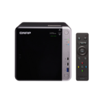 QNAP TS-453BT3 J3455 Ethernet LAN Tower Zwart NAS