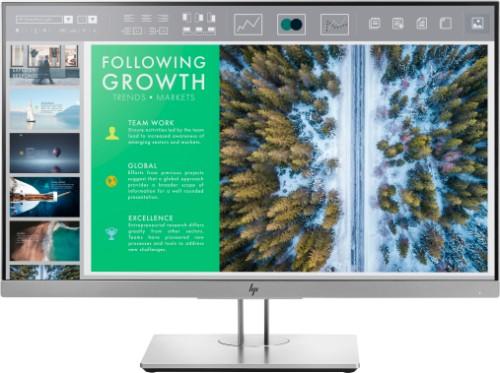 "HP EliteDisplay E243 LED display 60.5 cm (23.8"") 1920 x 1080 pixels Full HD Flat Black,Silver"