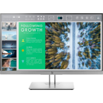 "HP EliteDisplay E243 60.5 cm (23.8"") 1920 x 1080 pixels Full HD LED Flat Black,Silver"