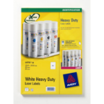 Avery L4775-20 self-adhesive label White 20 pc(s)