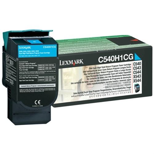 Lexmark C540H1CG Toner cyan, 2K pages