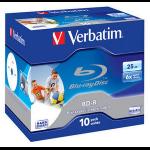 Verbatim BD-R SL 25GB 6x Printable 10pk 25GB BD-R 10pc(s)