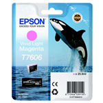 Epson C13T76064010 (T7606) Ink cartridge bright magenta, 2.8K pages, 26ml